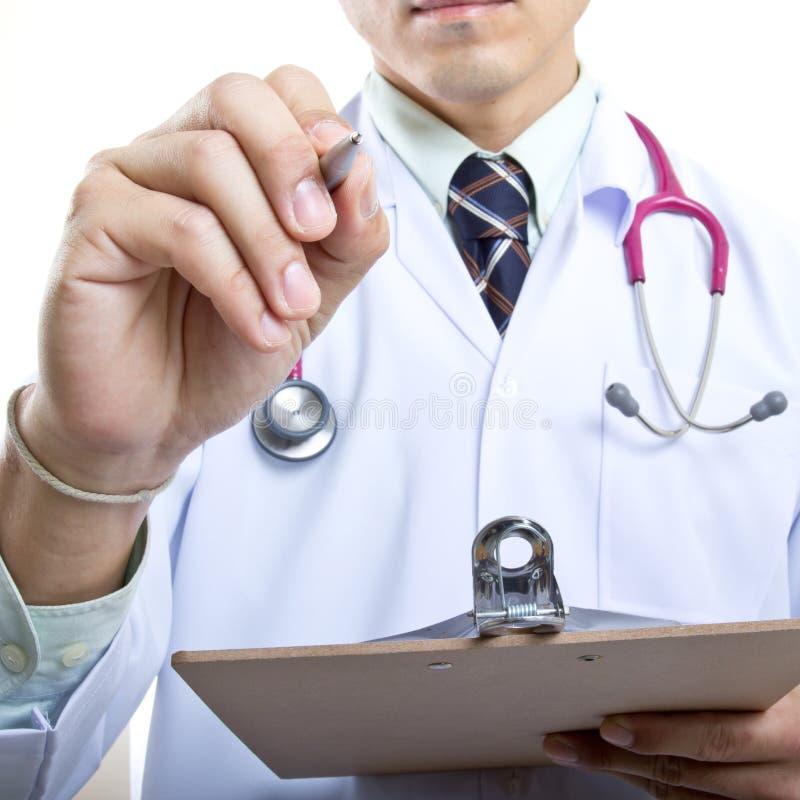 Ιατρός που ελέγχει την υγιή έννοιά σας στοκ φωτογραφία με δικαίωμα ελεύθερης χρήσης