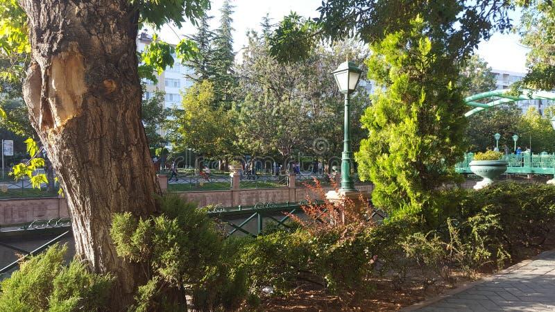 διαφορετική γωνία του πάρκου στοκ εικόνες