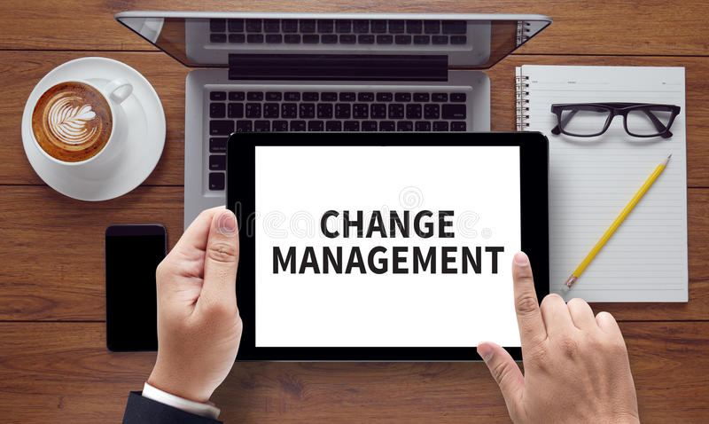 διαχείριση αλλαγής στοκ εικόνες