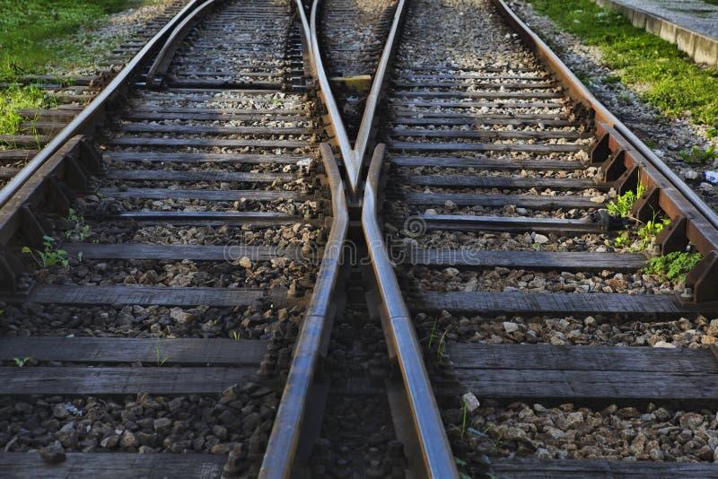 διαδρομές σιδηροδρόμων στοκ εικόνα με δικαίωμα ελεύθερης χρήσης