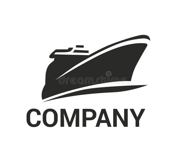 Ιδέα 1 λογότυπων σκαφών διανυσματική απεικόνιση