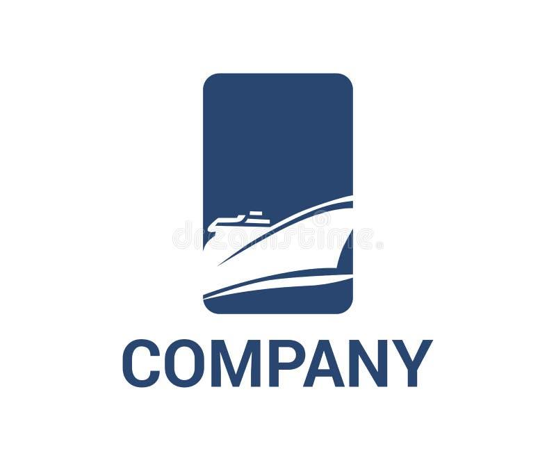 Ιδέα 2 λογότυπων σκαφών απεικόνιση αποθεμάτων