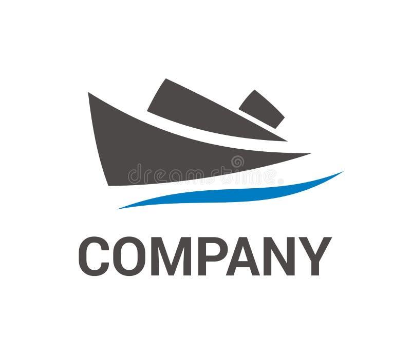 Ιδέα 3 λογότυπων σκαφών διανυσματική απεικόνιση