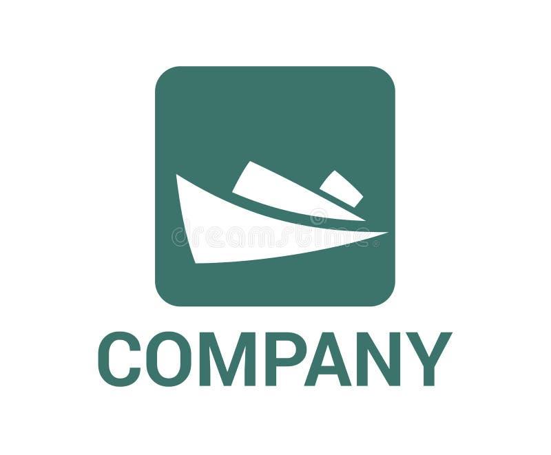 Ιδέα 5 λογότυπων σκαφών διανυσματική απεικόνιση