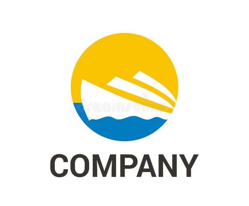 Ιδέα 6 λογότυπων σκαφών ελεύθερη απεικόνιση δικαιώματος