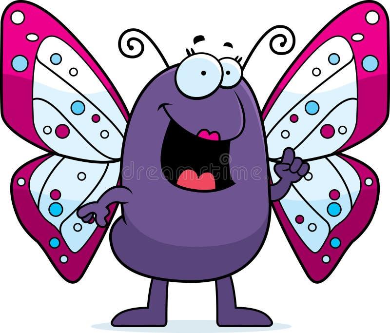 ιδέα πεταλούδων διανυσματική απεικόνιση