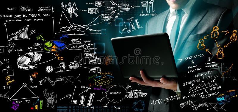 ιδέες επιχειρηματιών νέες στοκ εικόνες με δικαίωμα ελεύθερης χρήσης