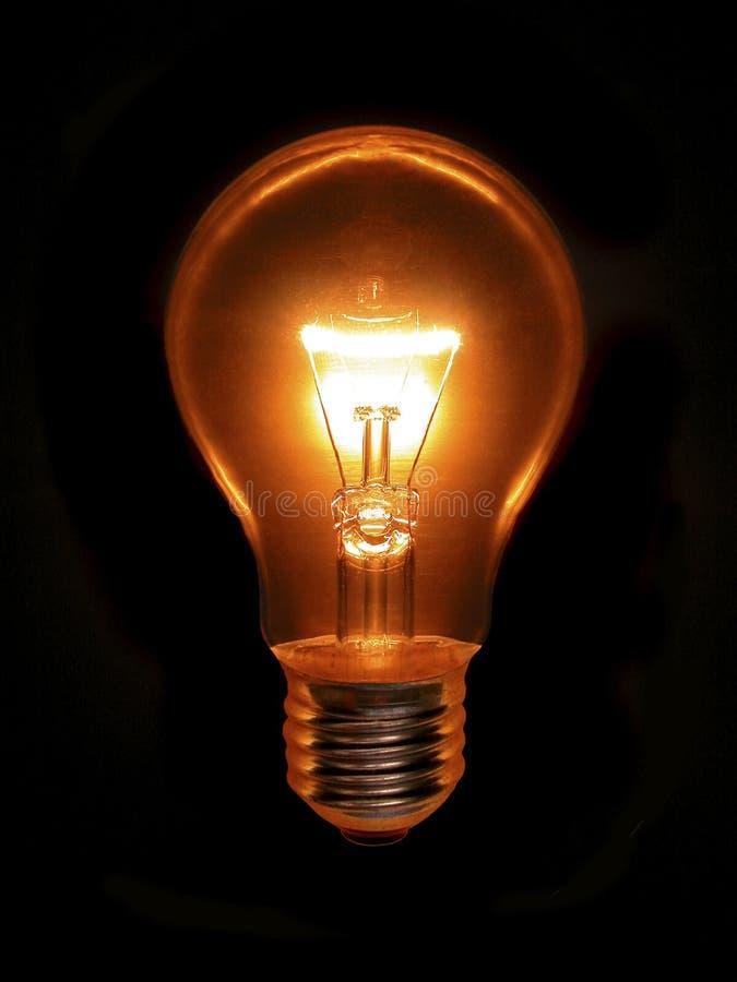 ιδέες lightbulb στοκ εικόνα