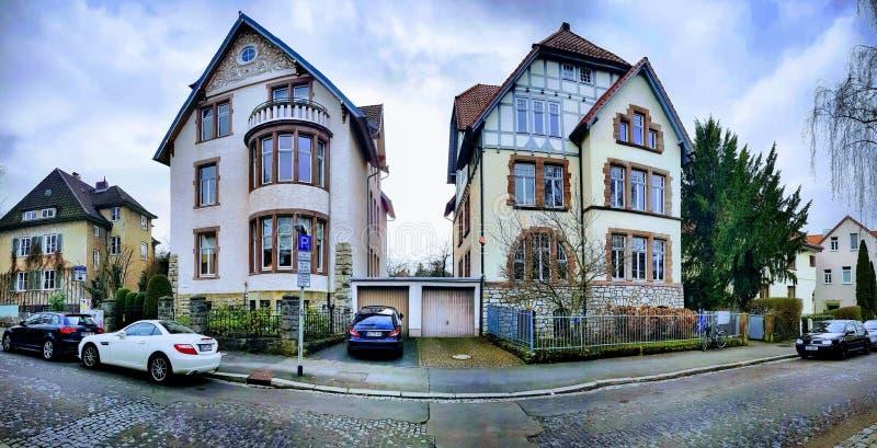 Ιδιωτικά εξοχικά σπίτια στοκ εικόνες