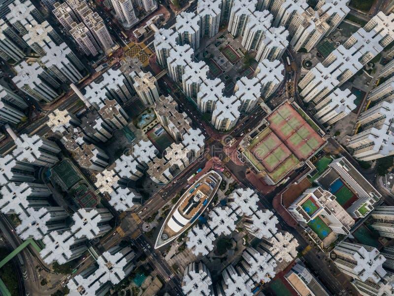 Ιδιωτική κατοικία του Χονγκ Κονγκ στοκ εικόνες