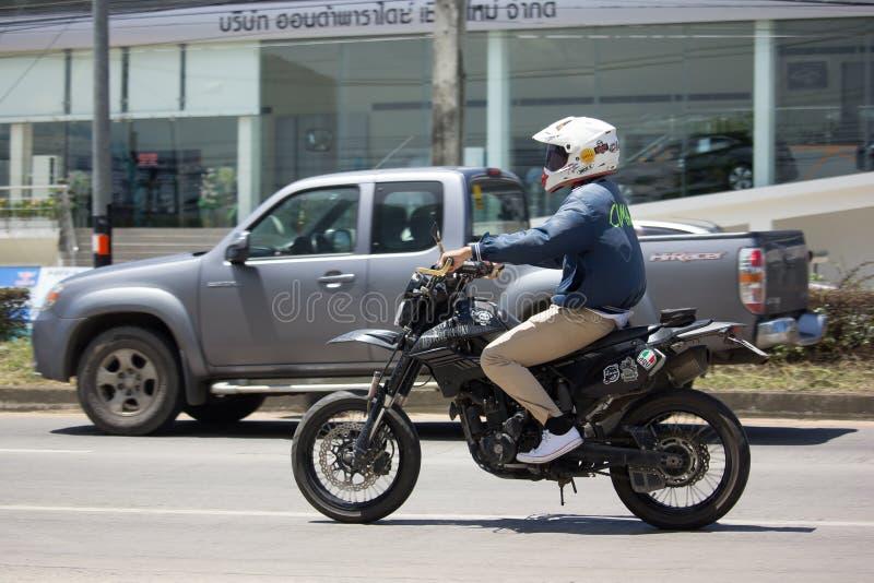 Ιδιωτική μοτοσικλέτα Bigbike Kawasaki στοκ φωτογραφίες με δικαίωμα ελεύθερης χρήσης