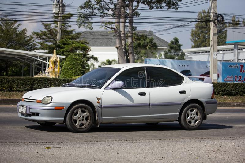 Ιδιωτικό αυτοκίνητο, νέο Chrysler στοκ εικόνες