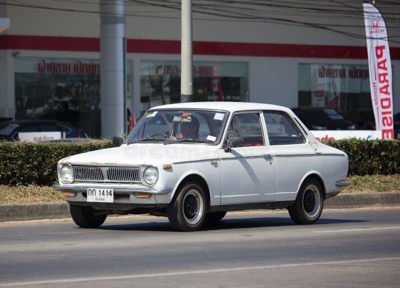 Ιδιωτικό παλαιό αυτοκίνητο, Toyota Corolla στοκ φωτογραφία με δικαίωμα ελεύθερης χρήσης