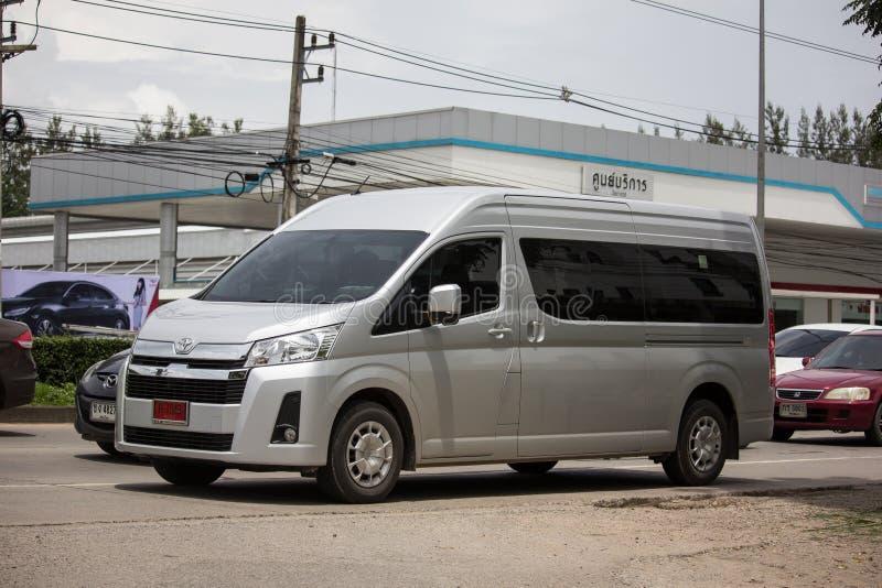 Ιδιωτικό All New Toyota commuter van στοκ φωτογραφίες με δικαίωμα ελεύθερης χρήσης