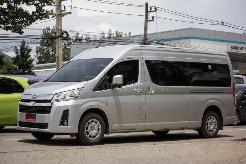 Ιδιωτικό All New Toyota commuter van στοκ εικόνες