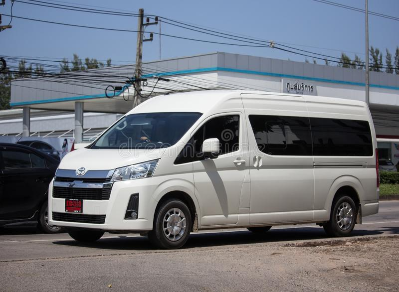 Ιδιωτικό All New Toyota commuter van στοκ εικόνες με δικαίωμα ελεύθερης χρήσης