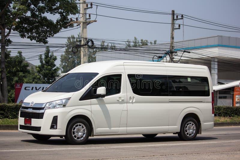 Ιδιωτικό All New Toyota commuter van στοκ φωτογραφία με δικαίωμα ελεύθερης χρήσης