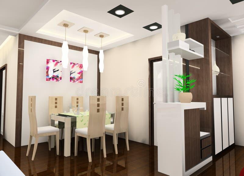 ιδιόρρυθμη κουζίνα ελεύθερη απεικόνιση δικαιώματος
