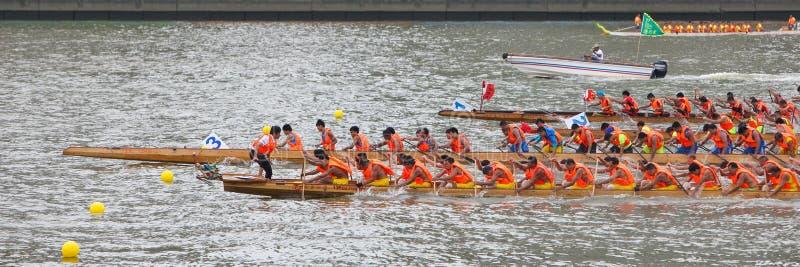 2015 διεθνής φυλή 4 βαρκών δράκων Guangzhou στοκ εικόνες