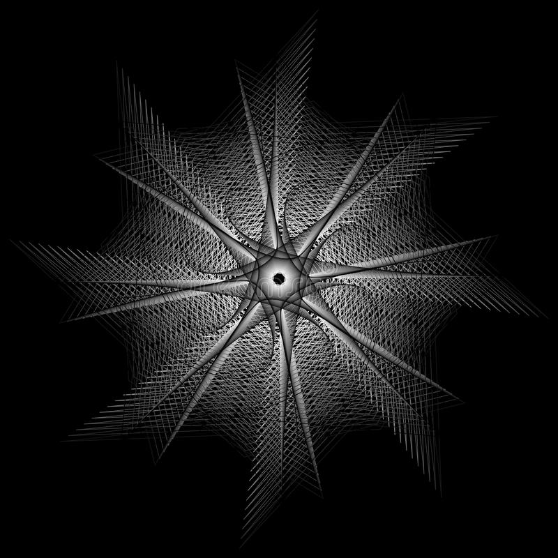 Ιερά σημάδια γεωμετρίας Σύνολο συμβόλων και στοιχείων ελεύθερη απεικόνιση δικαιώματος