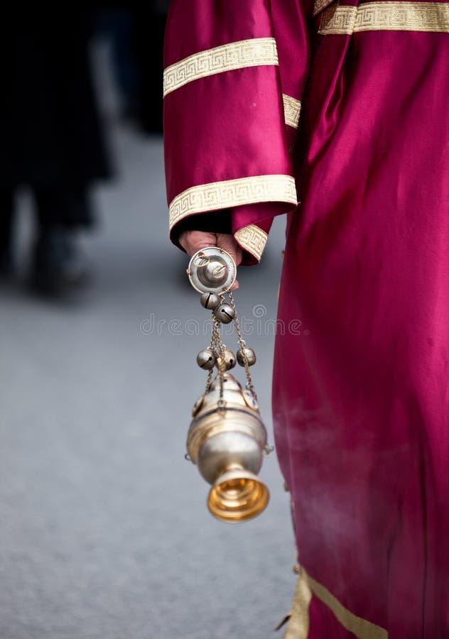 ιερέας χεριών στοκ εικόνες