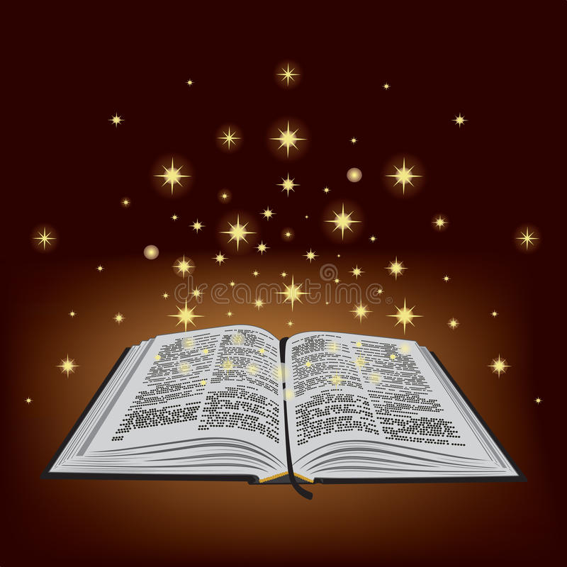 Ιερή Βίβλος. διανυσματική απεικόνιση