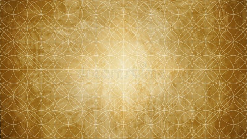Ιερή γεωμετρία στη μορφή σχεδίων λουλουδιών στοκ φωτογραφία με δικαίωμα ελεύθερης χρήσης
