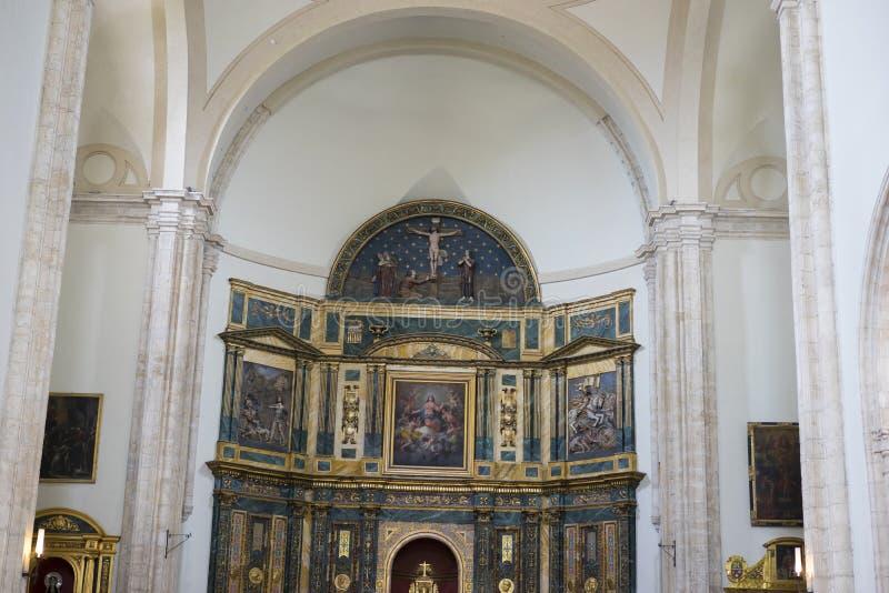 Ιερή εβδομάδα στην Ισπανία, τις εικόνες των virgins και τις αντιπροσωπεύσεις Chr στοκ εικόνες με δικαίωμα ελεύθερης χρήσης