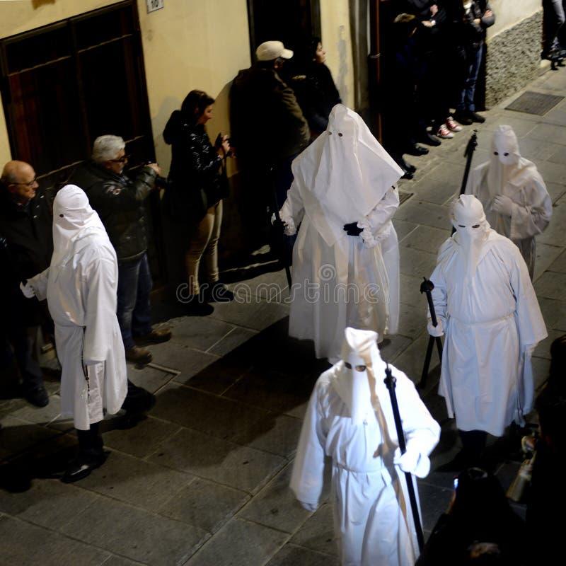 Ιερή εβδομάδα στη Σαρδηνία στοκ φωτογραφία με δικαίωμα ελεύθερης χρήσης