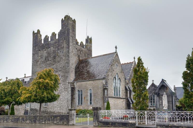 Ιερή εκκλησία αβαείων τριάδας σε Adare, Ιρλανδία στοκ εικόνες