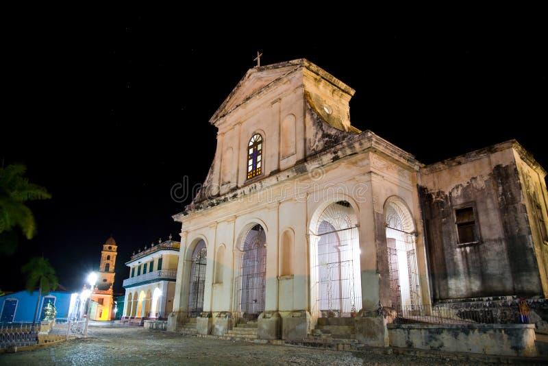 Ιερή εκκλησία τριάδας, Τρινιδάδ, Κούβα στοκ εικόνες