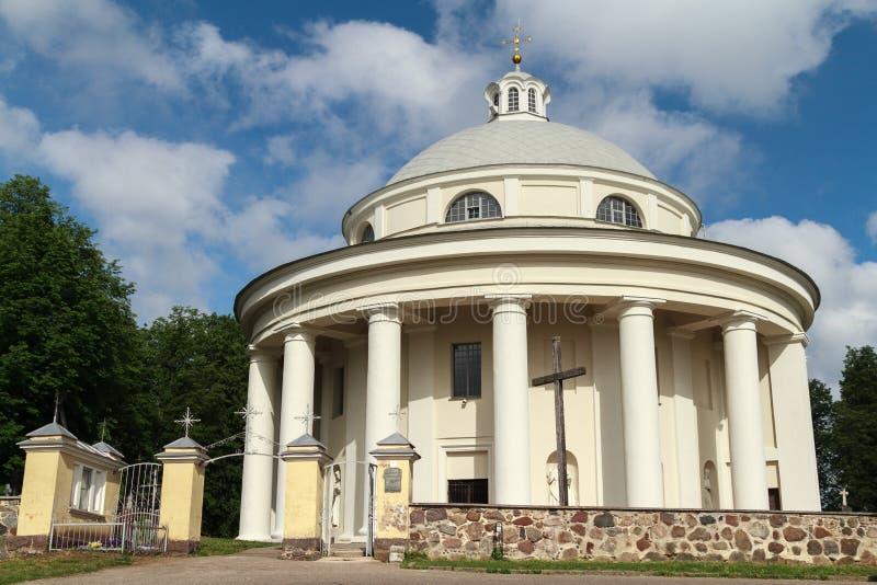 Ιερή εκκλησία τριάδας, Suderve, Λιθουανία στοκ φωτογραφίες