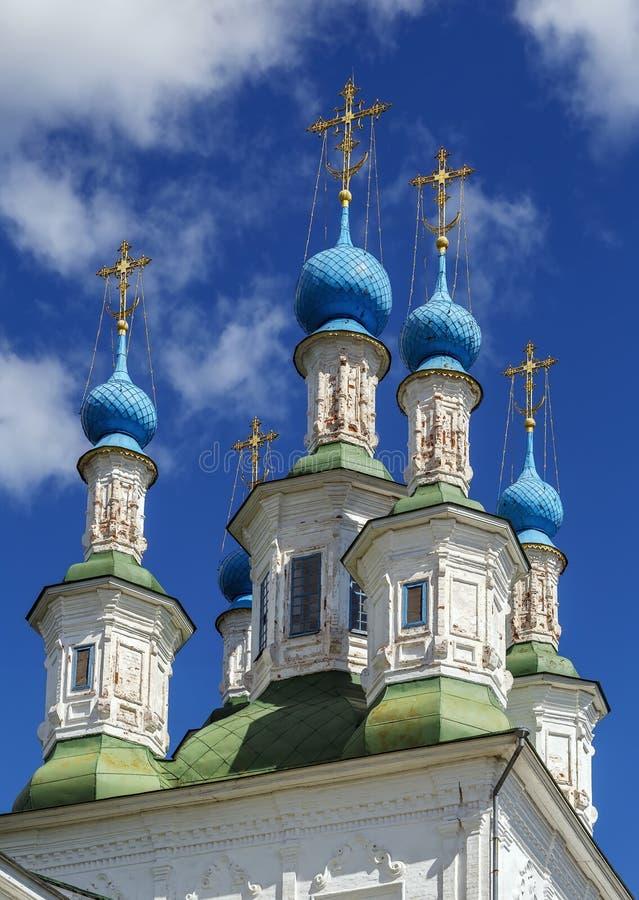 Ιερή εκκλησία τριάδας, Totma, Ρωσία στοκ φωτογραφίες