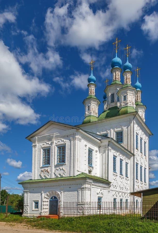 Ιερή εκκλησία τριάδας, Totma, Ρωσία στοκ φωτογραφία