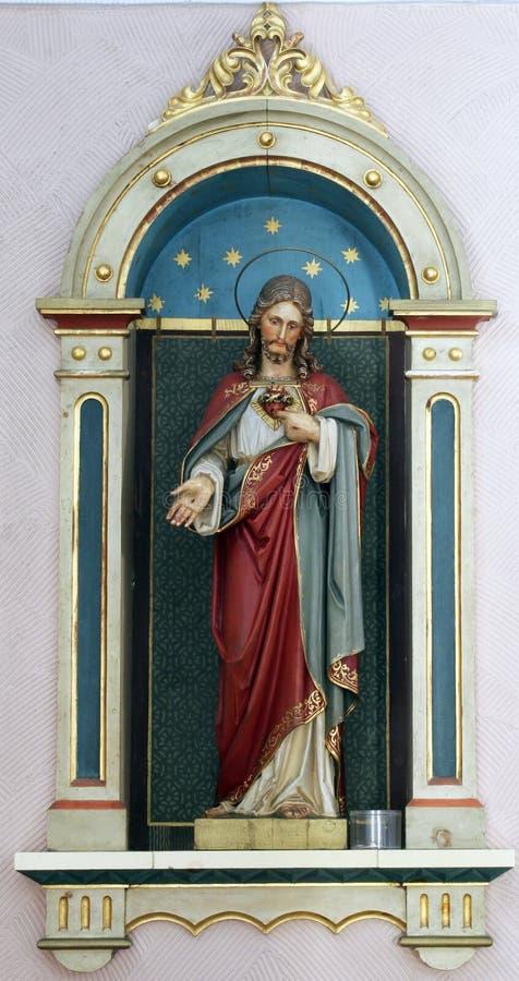 Ιερή καρδιά του Ιησού στοκ εικόνες