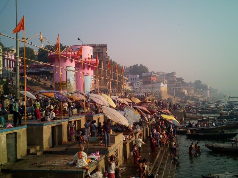 Ιερή Πόλη Varanasi στοκ εικόνα με δικαίωμα ελεύθερης χρήσης