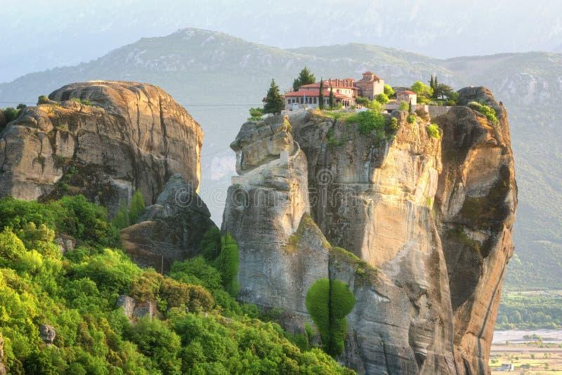 Ιερή τριάδα μοναστηριών, Meteora, Ελλάδα r στοκ εικόνες