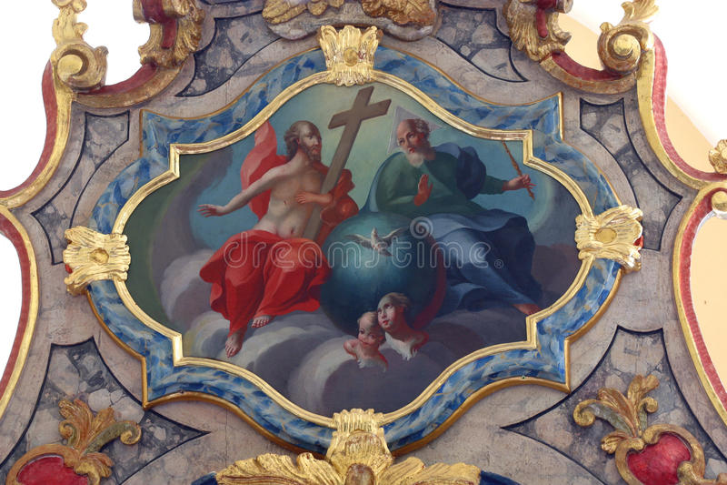 ιερή τριάδα στοκ εικόνα
