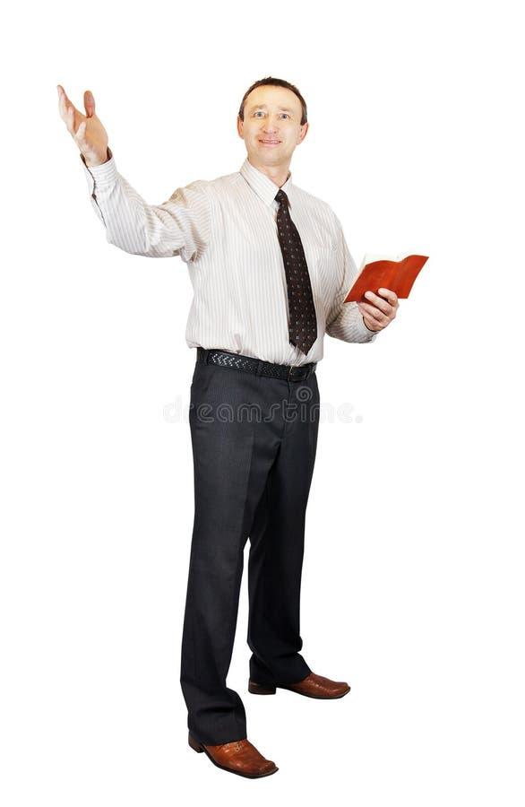 ιεροκήρυκας στοκ εικόνα με δικαίωμα ελεύθερης χρήσης