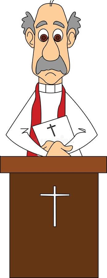 ιεροκήρυκας διανυσματική απεικόνιση