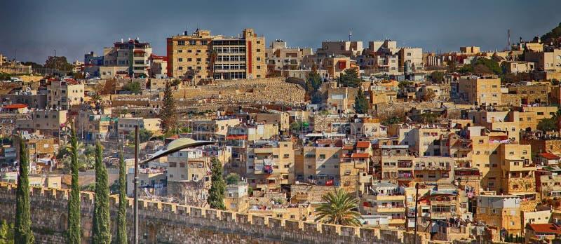 Ιερουσαλήμ Περίπατοι πόλεων παλαιά πόλη σπιτιών στοκ φωτογραφία με δικαίωμα ελεύθερης χρήσης