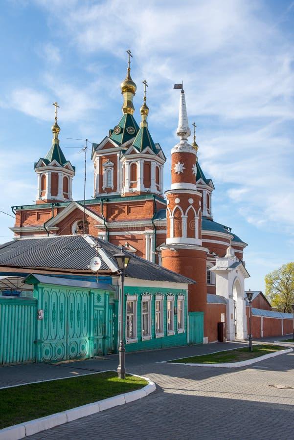 Ιερός διαγώνιος καθεδρικός ναός σε Kolomna, Ρωσία, περιοχή της Μόσχας στοκ φωτογραφία με δικαίωμα ελεύθερης χρήσης