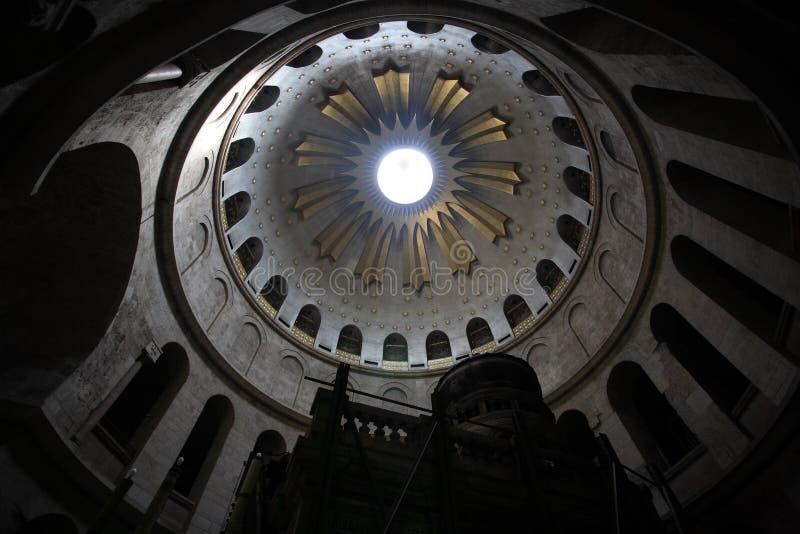 ιερός τάφος θόλων εκκλησ στοκ φωτογραφία
