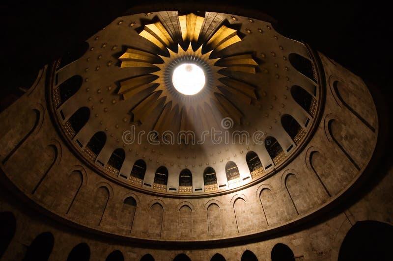 ιερός τάφος της Ιερουσα στοκ εικόνες