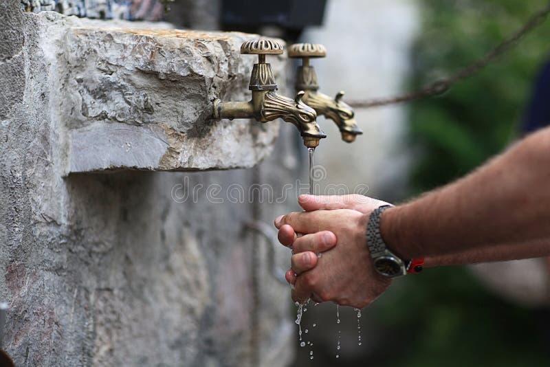 Ιερό νερό στοκ εικόνες