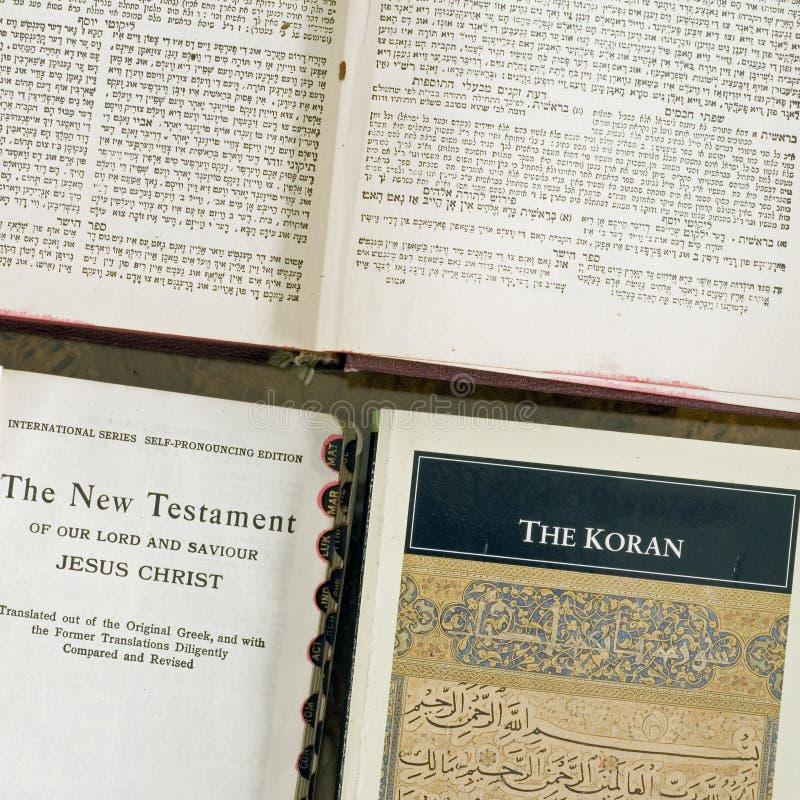 ιερό τετράγωνο τρία faiths βιβλί&o στοκ εικόνες με δικαίωμα ελεύθερης χρήσης