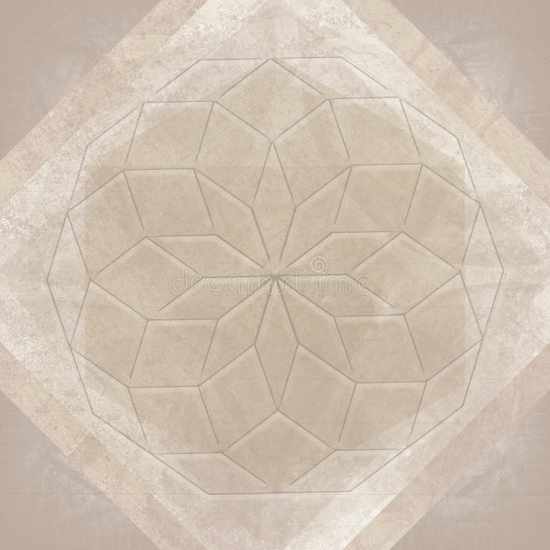Ιερό υπόβαθρο συμβόλων γεωμετρίας αφηρημένο ελεύθερη απεικόνιση δικαιώματος