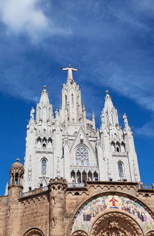 Ιησούς Christus Statue στην εξιλεωτική εκκλησία της ιερής καρδιάς του Ιησού στοκ φωτογραφίες με δικαίωμα ελεύθερης χρήσης