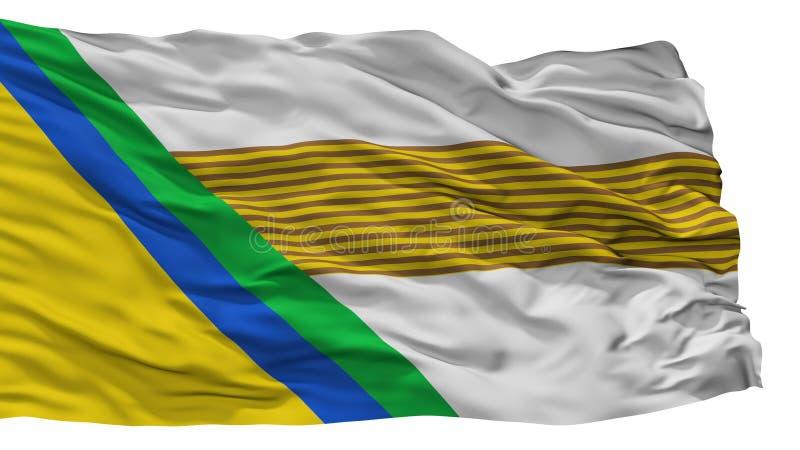 Ιησούς Maria City Flag, τμήμα της Κολομβίας, σαντάντερ, που απομονώνεται στο άσπρο υπόβαθρο ελεύθερη απεικόνιση δικαιώματος