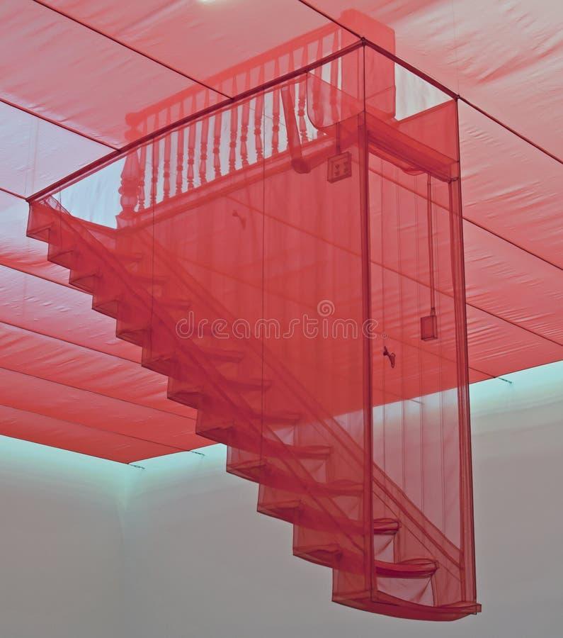 ΙΙΙ σκάλα στοκ εικόνα